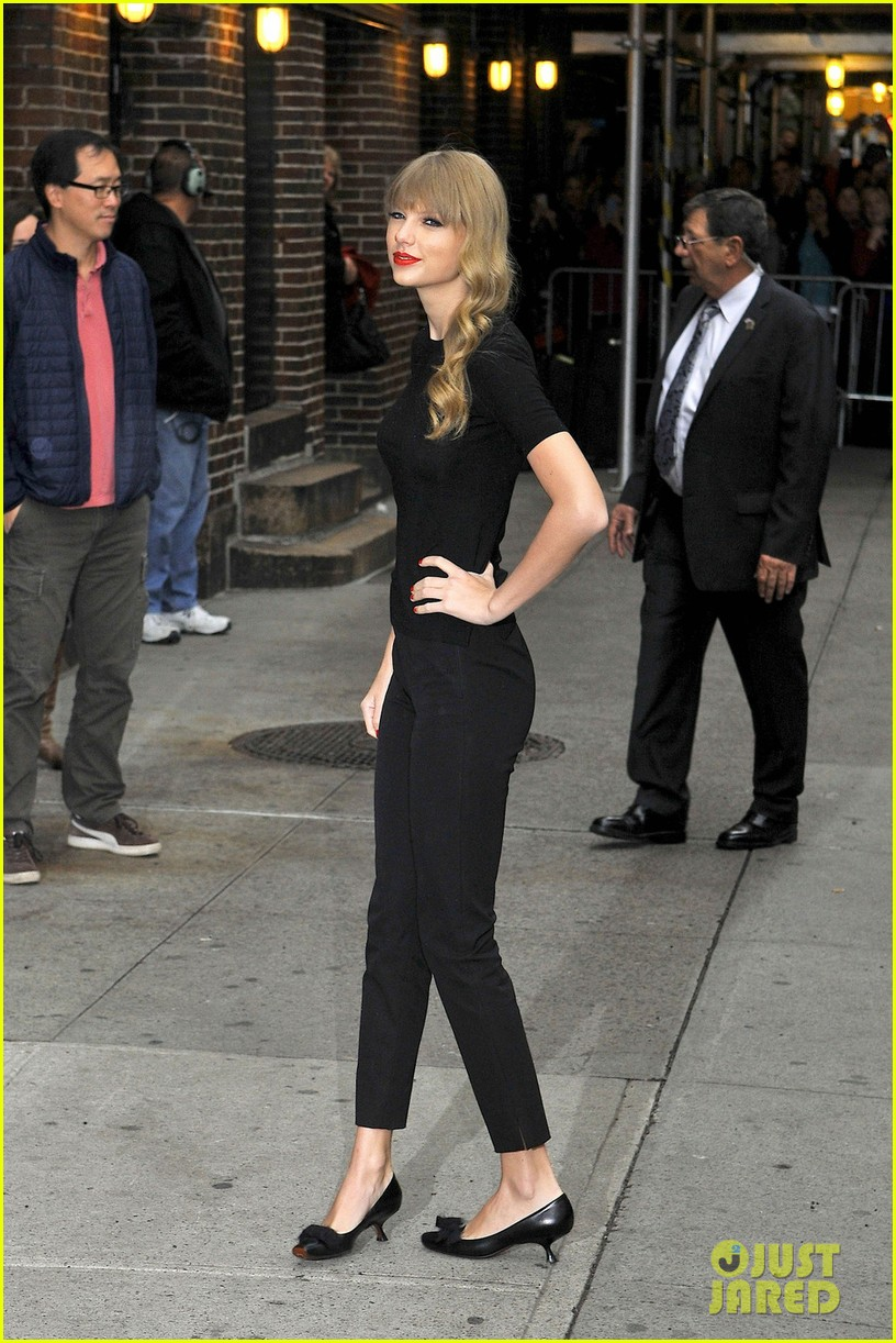 taylor swift late show with david letterman guest 072743598