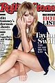 taylor swift covers rolling stone hot list issue 01