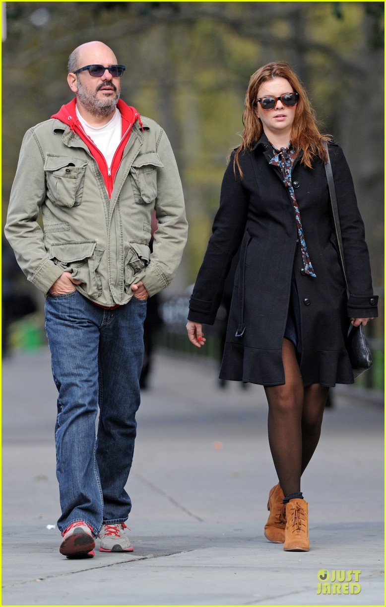 amber tamblyn david cross post wedding stroll 012737827