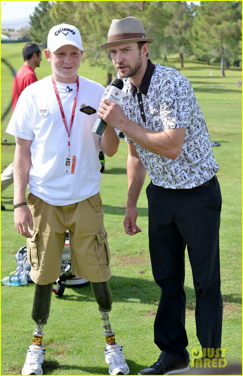 justin timberlake shriners hospital golf tournament 19