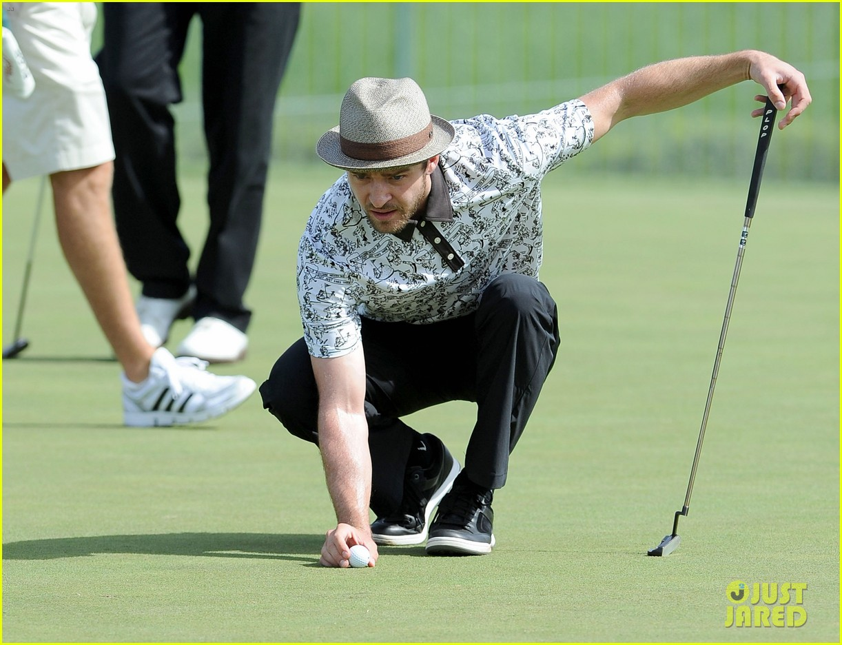 justin timberlake shriners hospital golf tournament 232732435