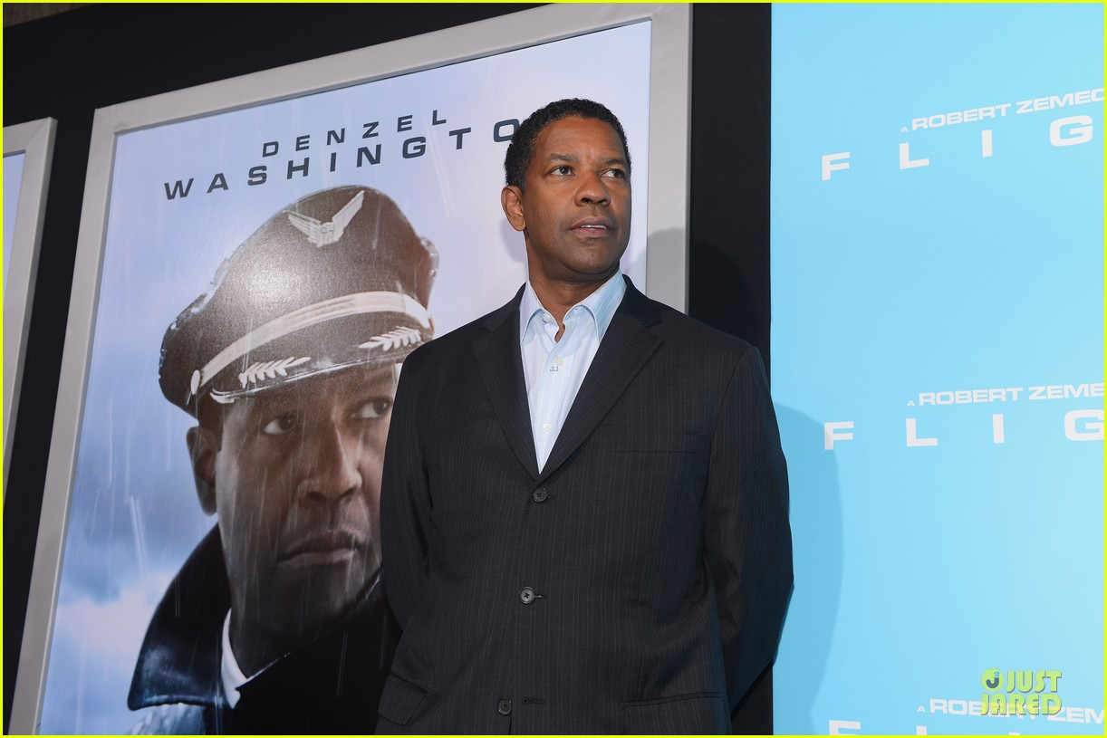 denzel washington flight premiere in los angeles 132743931