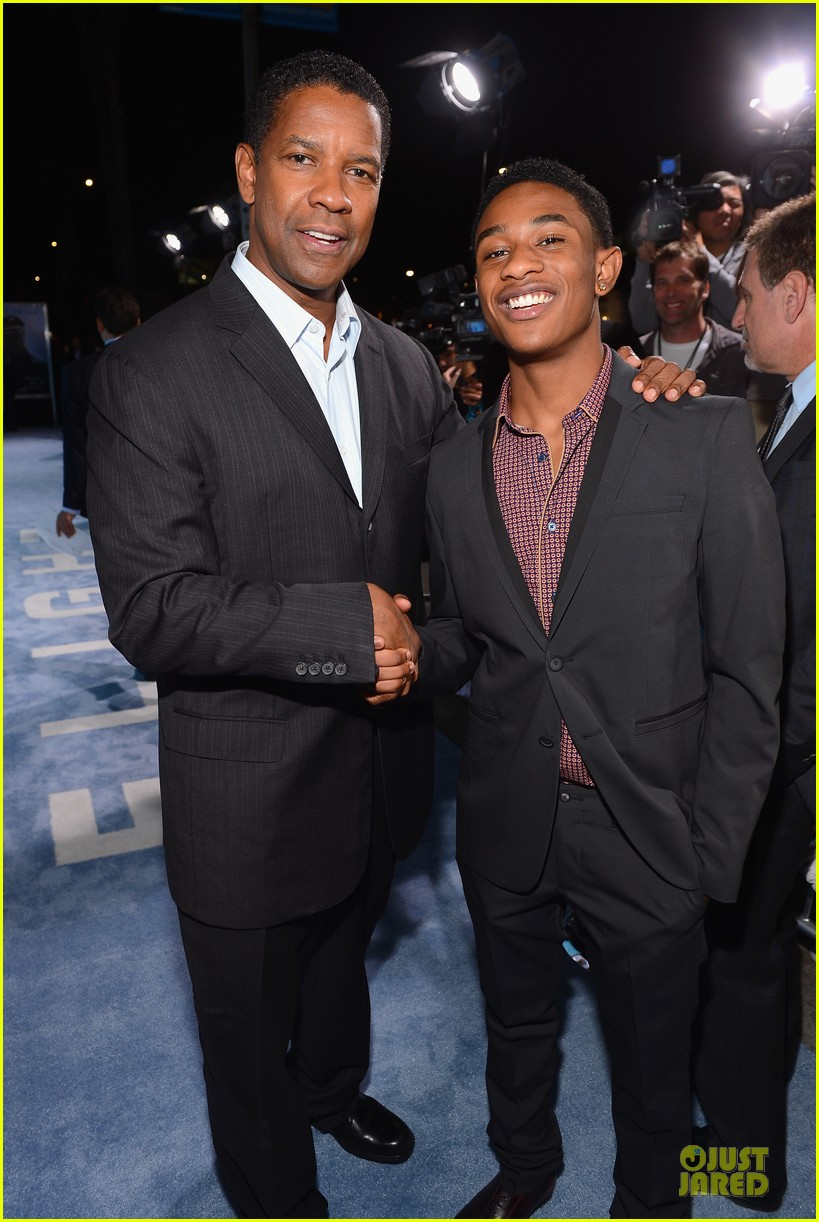 denzel washington flight premiere in los angeles 152743933