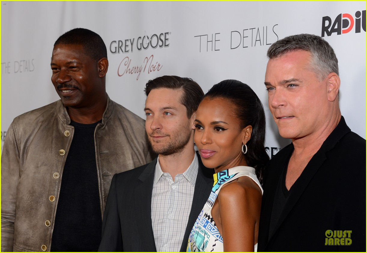 kerry washington tobey maguire the details hollywood premiere 132748175