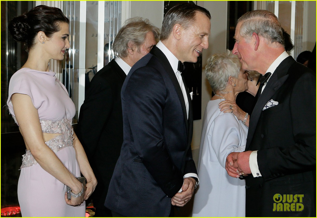 rachel weisz daniel craig meet the royals at skyfall premiere 022743729