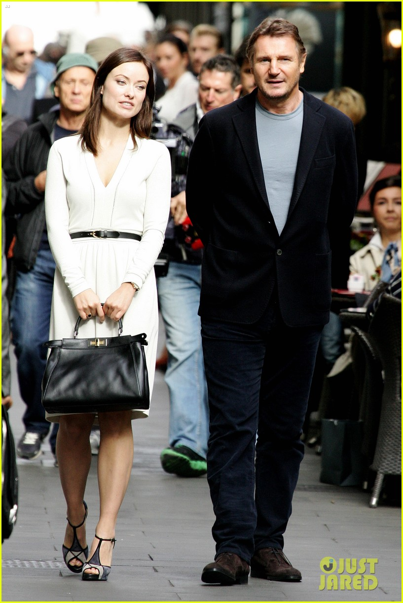 olivia wilde amp liam neeson the third person in rome