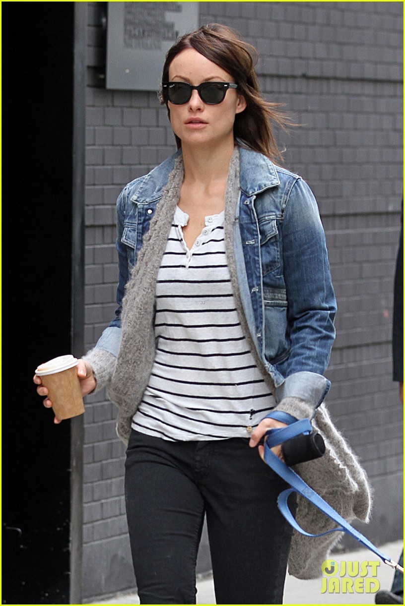 olivia wilde new york stroll with paco 012737496