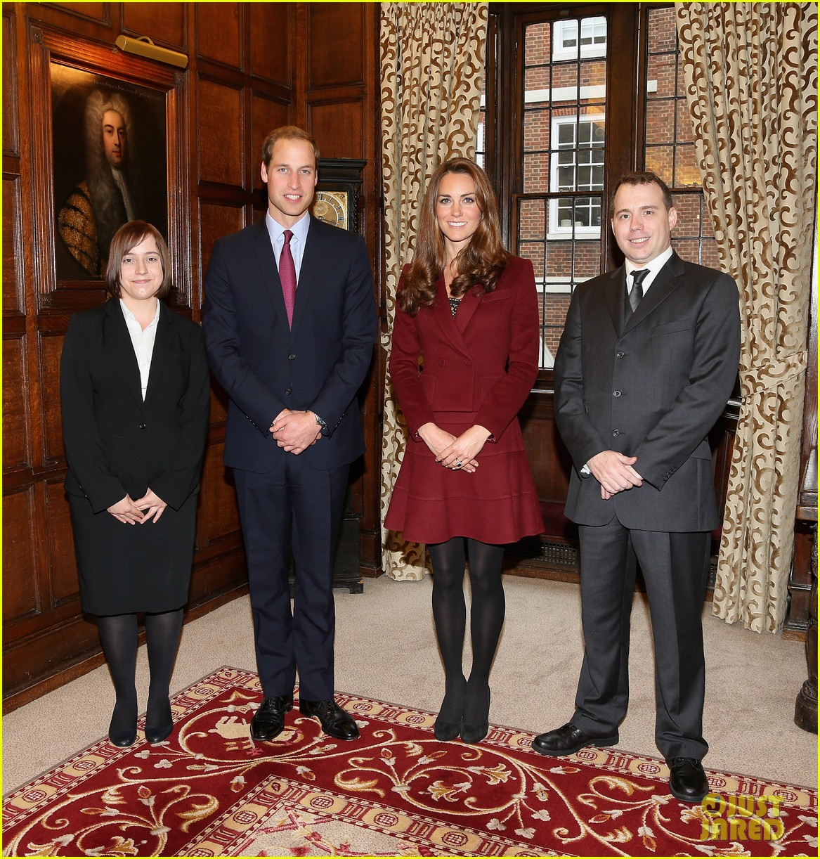 prince william duchess kate middle temple scholars visit 012734896
