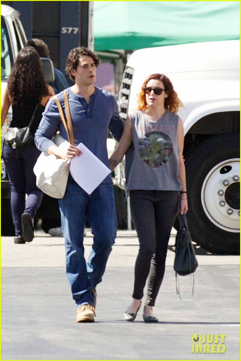 rumer willis jayson blair set visit 032733019