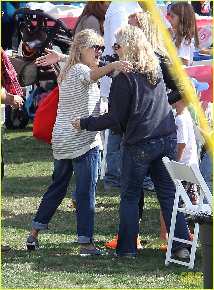 reese witherspoon jim toth carnival couple in brentwood 122742272