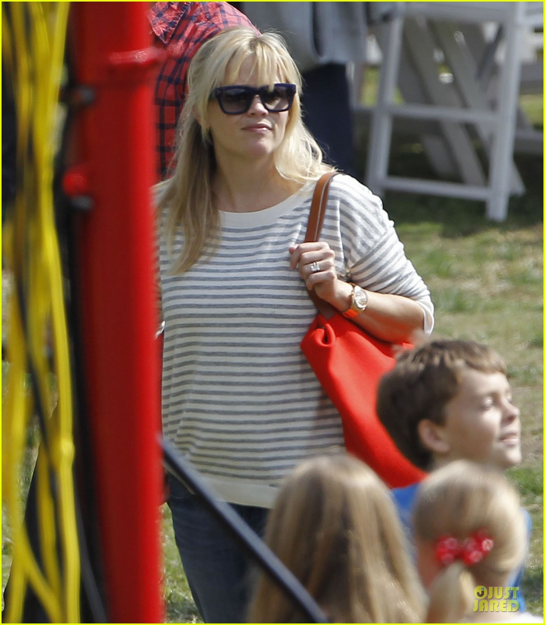 reese witherspoon jim toth carnival couple in brentwood 172742277