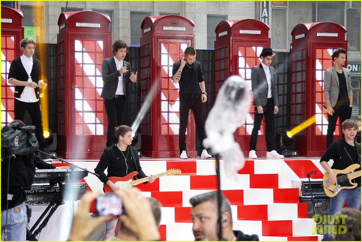 one direction announces 3d movie on today show 022756550