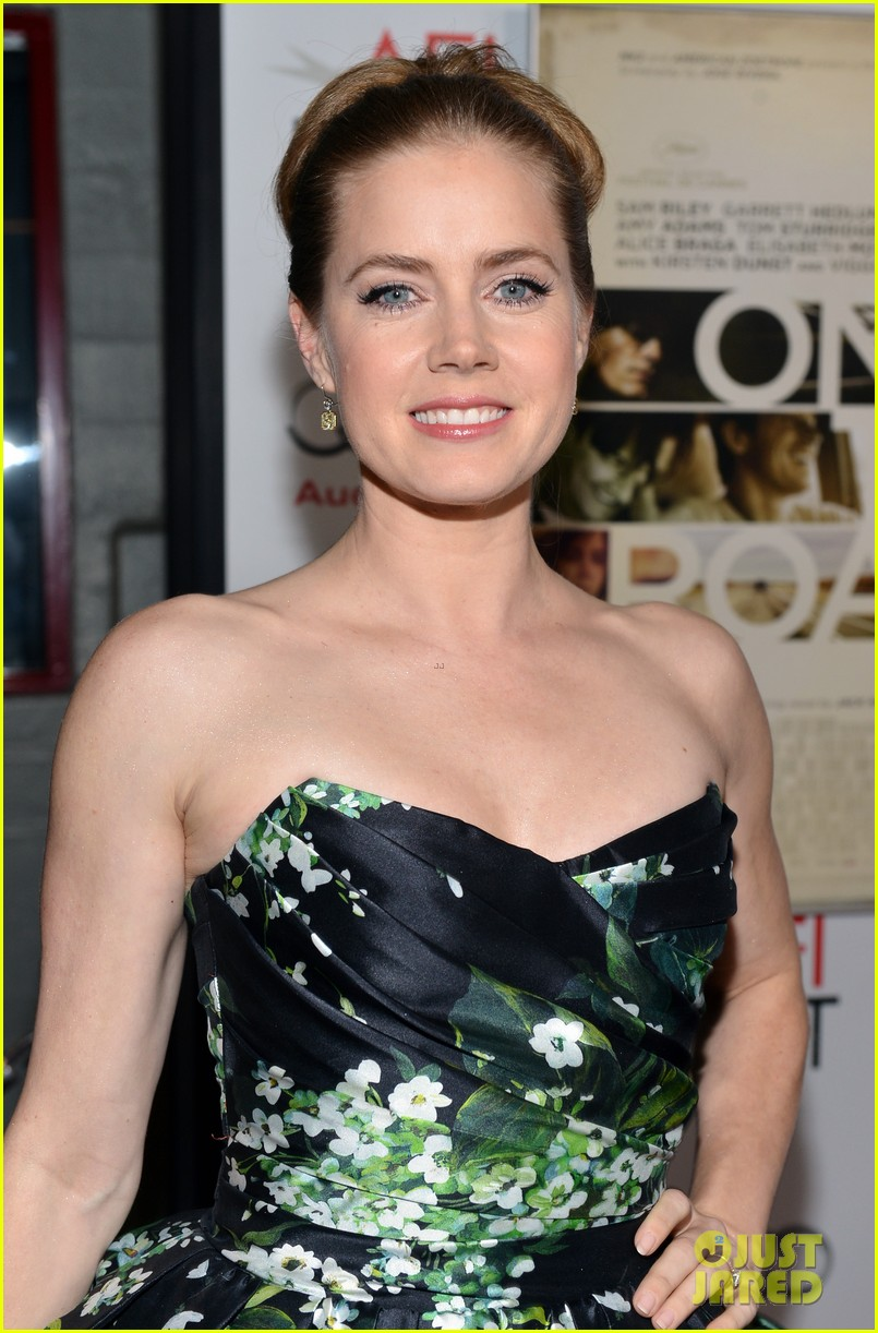 amy adams garrett hedlund on the road afi screening 132750617