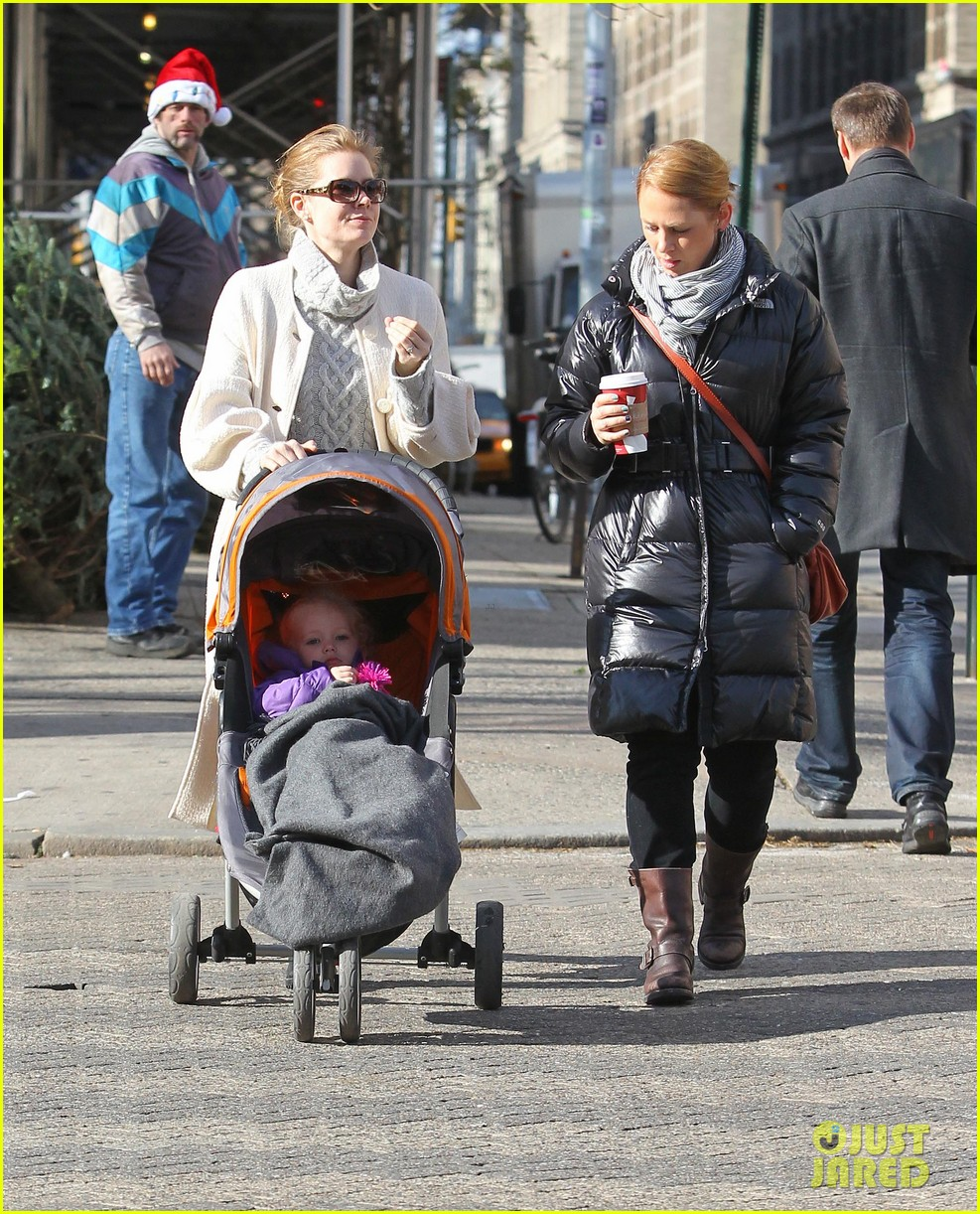 amy adams big apple family time 09