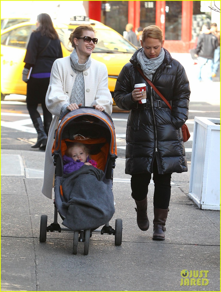 amy adams big apple family time 132766011