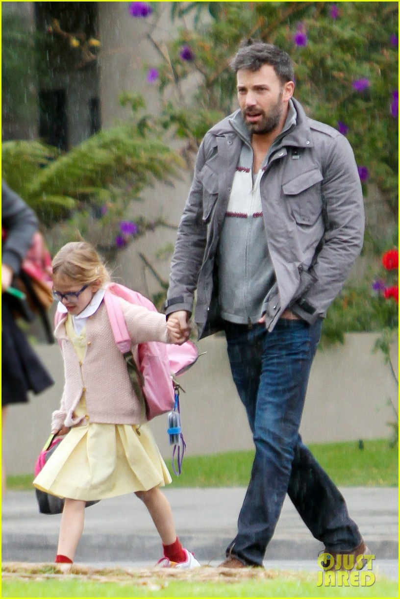 ben affleck daddys day with violet seraphina 012754031