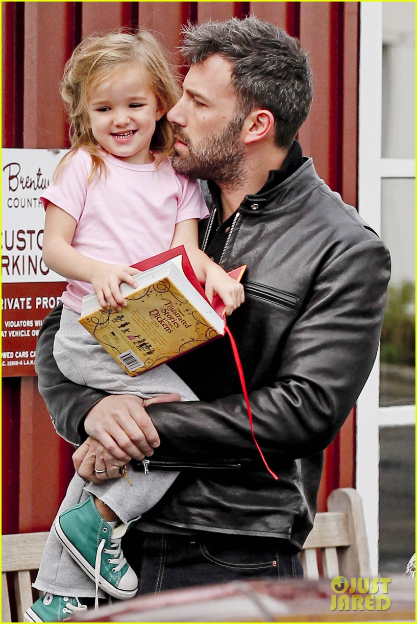 ben affleck daddys day with violet seraphina 022754032