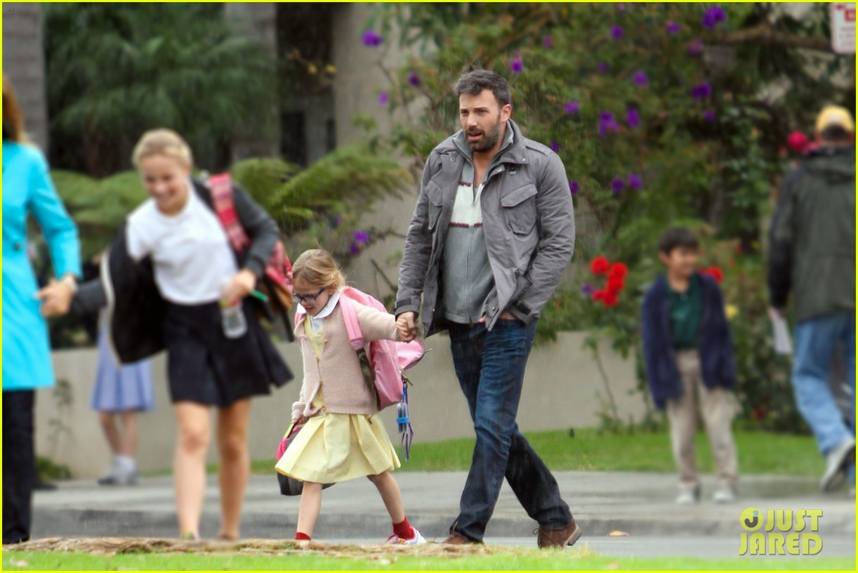 ben affleck daddys day with violet seraphina 062754036