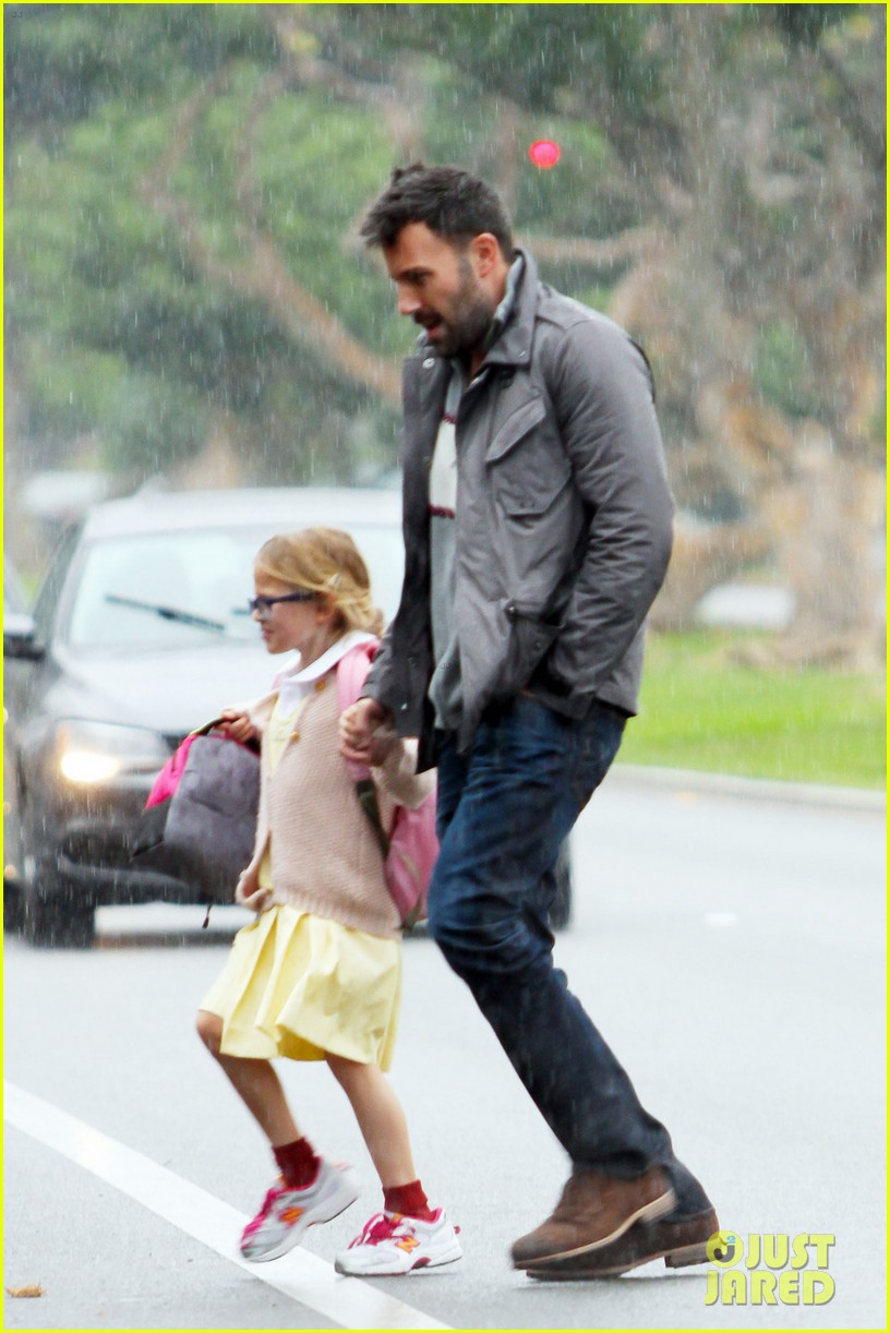 ben affleck daddys day with violet seraphina 082754038