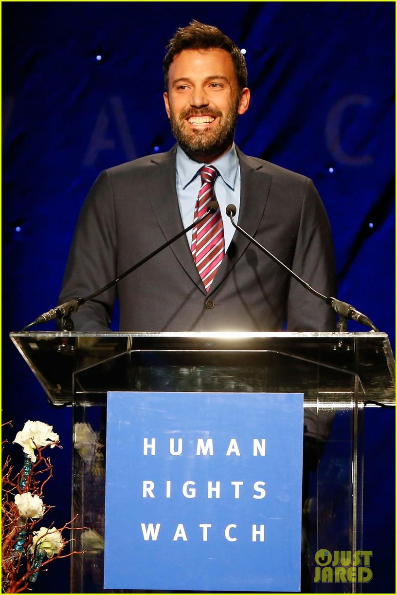 ben affleck human rights watch guest speaker 042756617