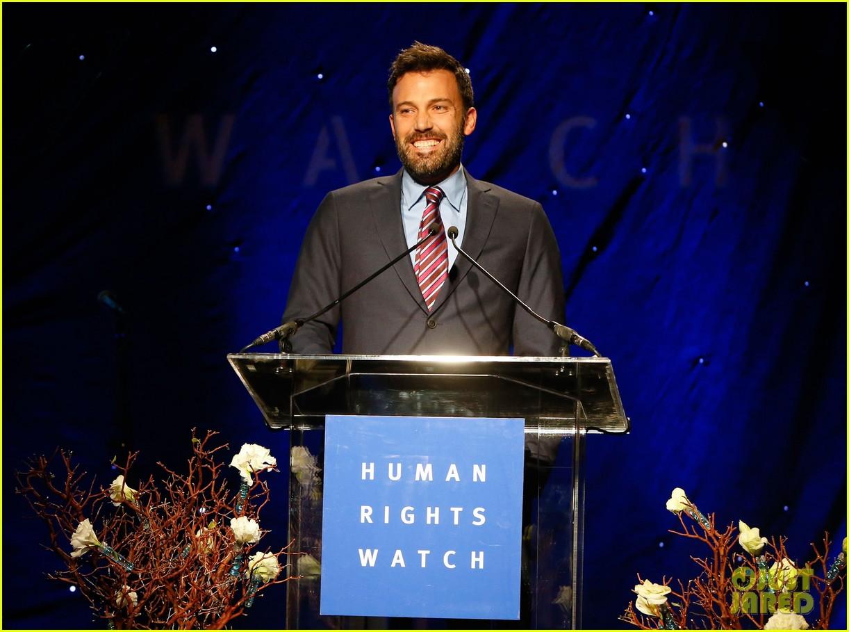 ben affleck human rights watch guest speaker 142756627