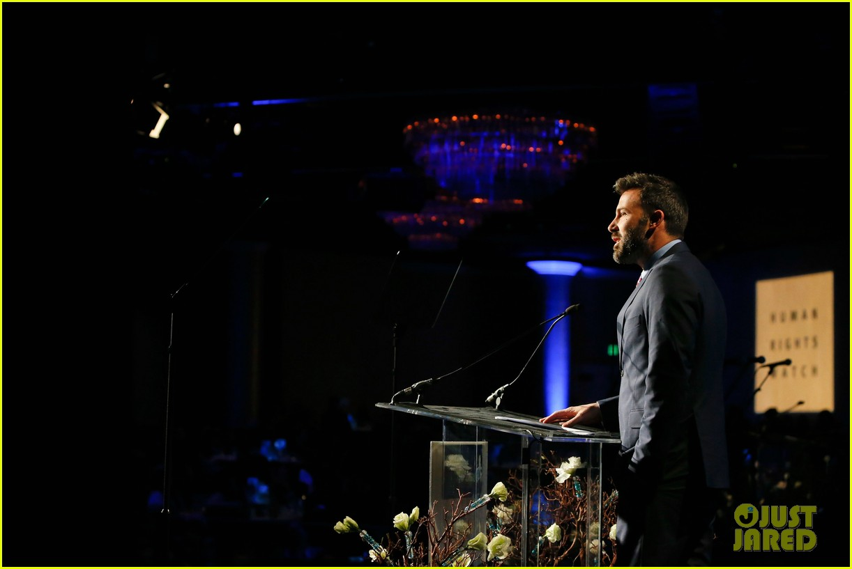 ben affleck human rights watch guest speaker 15