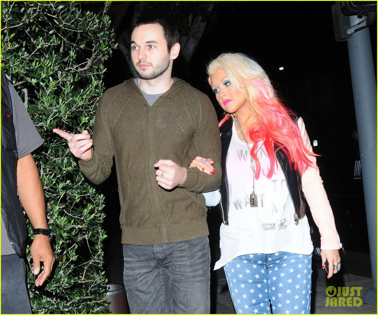 christina aguilera the voice at the grove 012751797