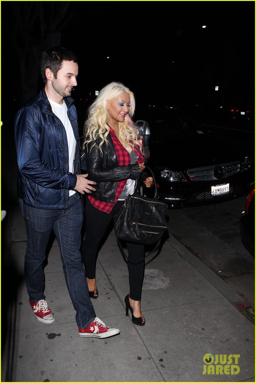 christina aguilera matthew rutler osteria mozza date night 022764481