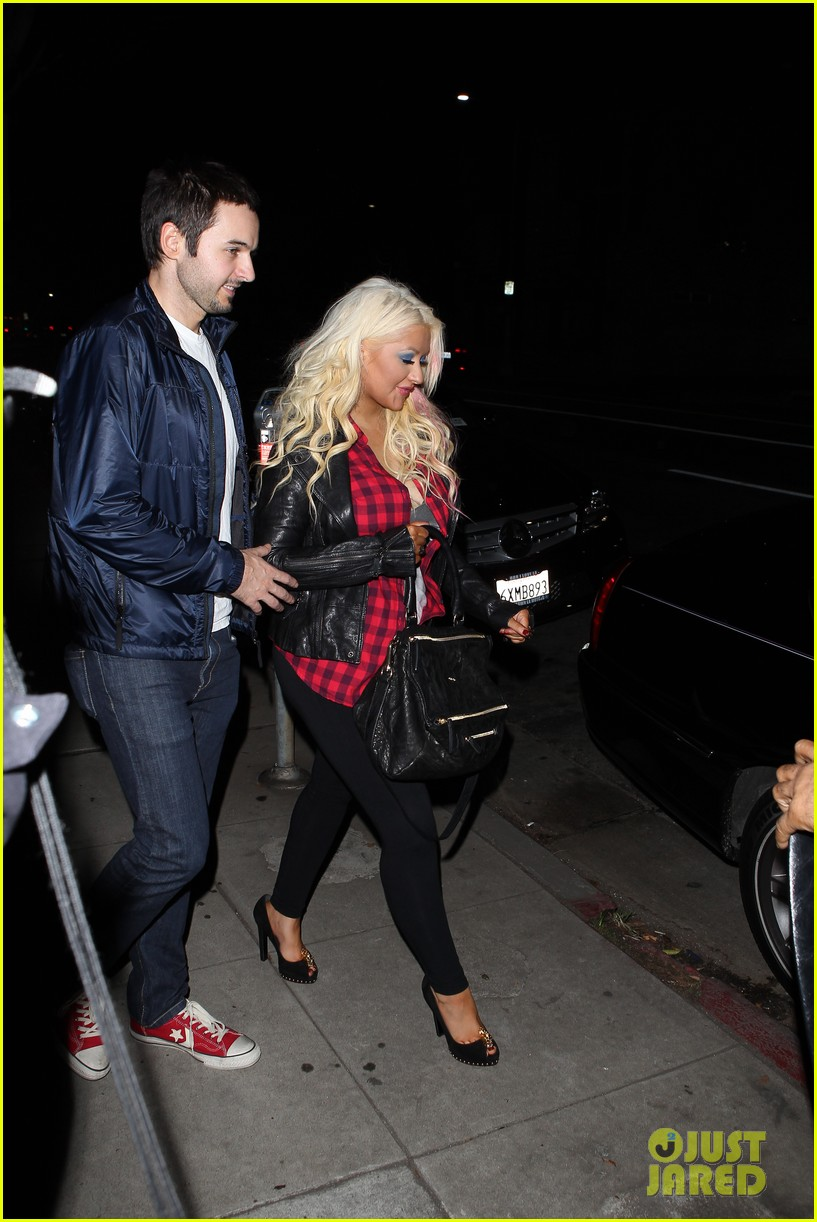 christina aguilera matthew rutler osteria mozza date night 05