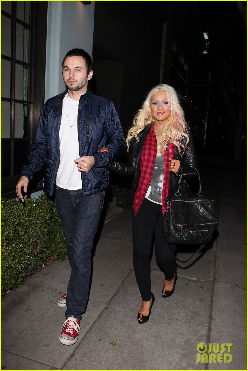 christina aguilera matthew rutler osteria mozza date night 082764487