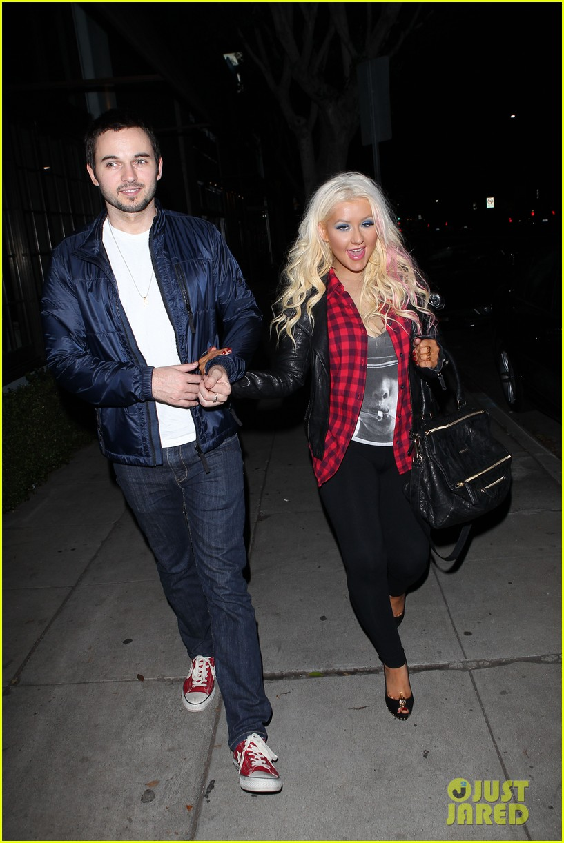 christina aguilera matthew rutler osteria mozza date night 092764488