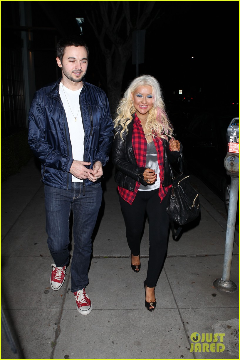 christina aguilera matthew rutler osteria mozza date night 102764489