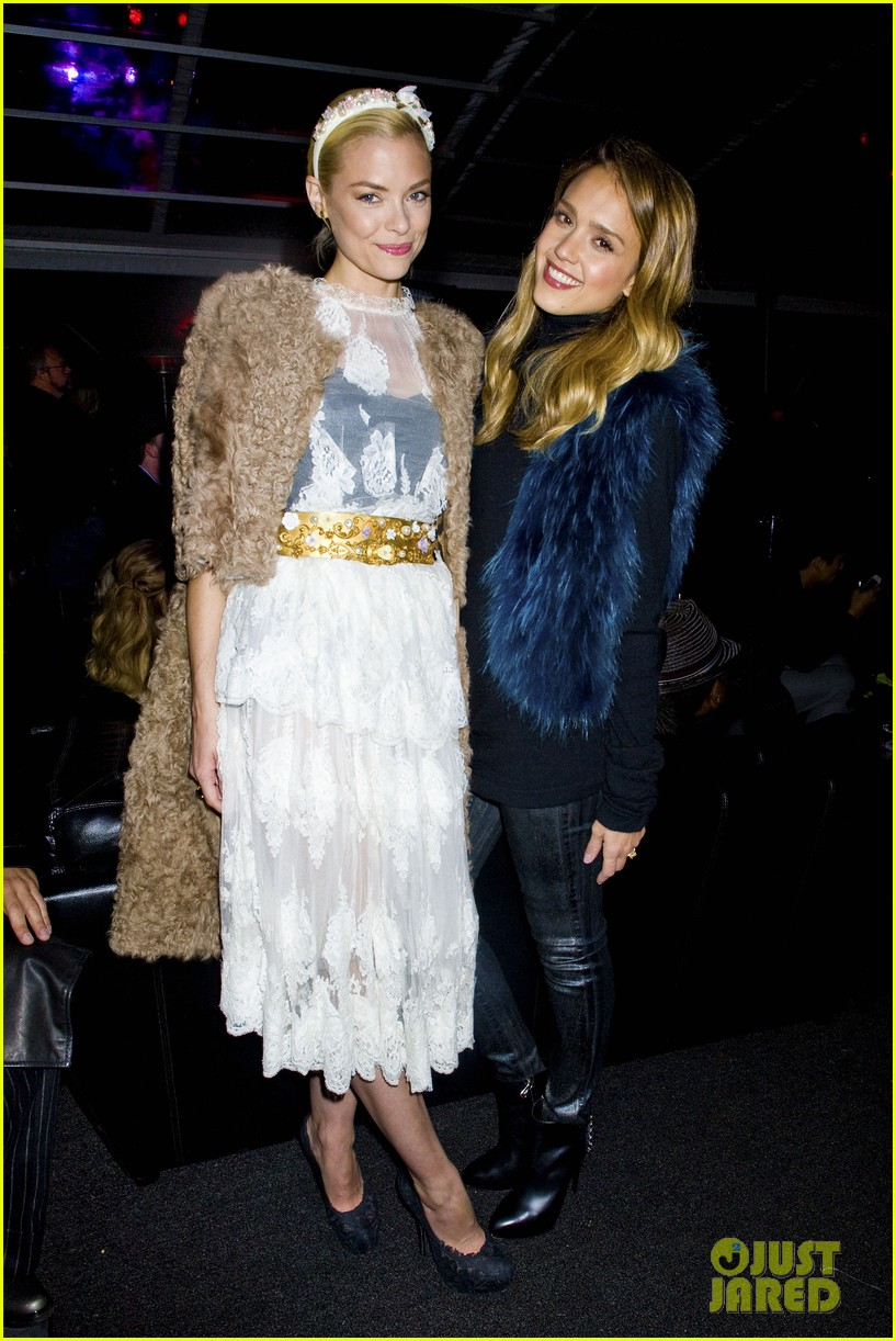 jessica alba jaime king sin city 2 production launch party 11