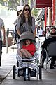 alessandra ambrosio ice cream stop with anja and noah 05