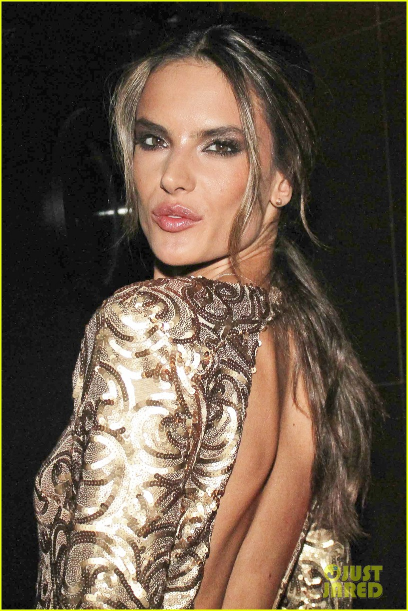 alessandra ambrosio new york city for victorias secret fitting 092749473