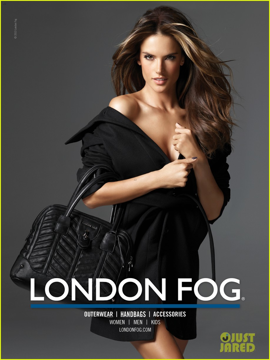 alessandra ambrosio london fog campaign with anja 052755109