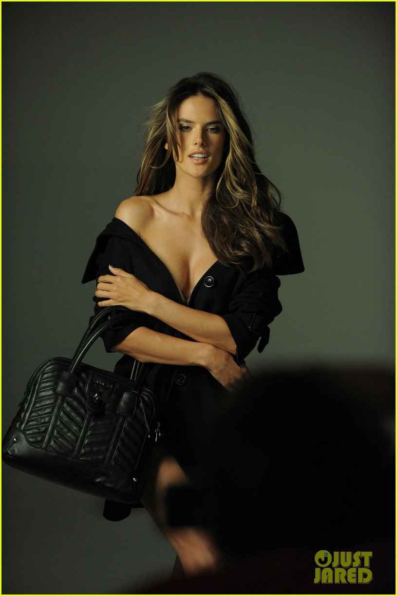 alessandra ambrosio london fog campaign with anja 102755114