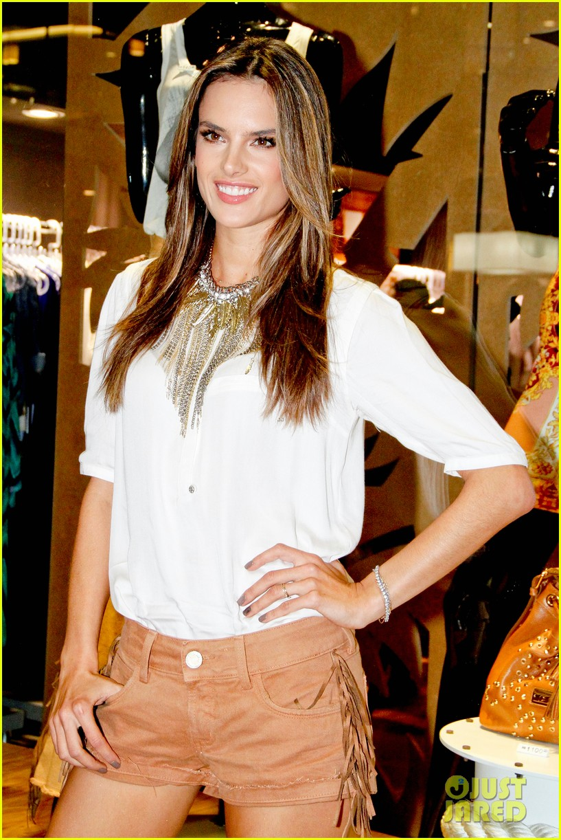 alessandra ambrosio colcci collection launch in rio 162759798