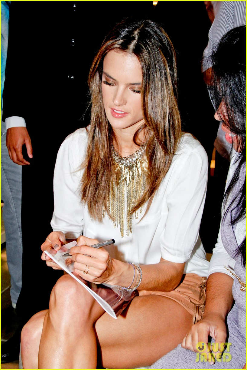 alessandra ambrosio colcci collection launch in rio 172759799