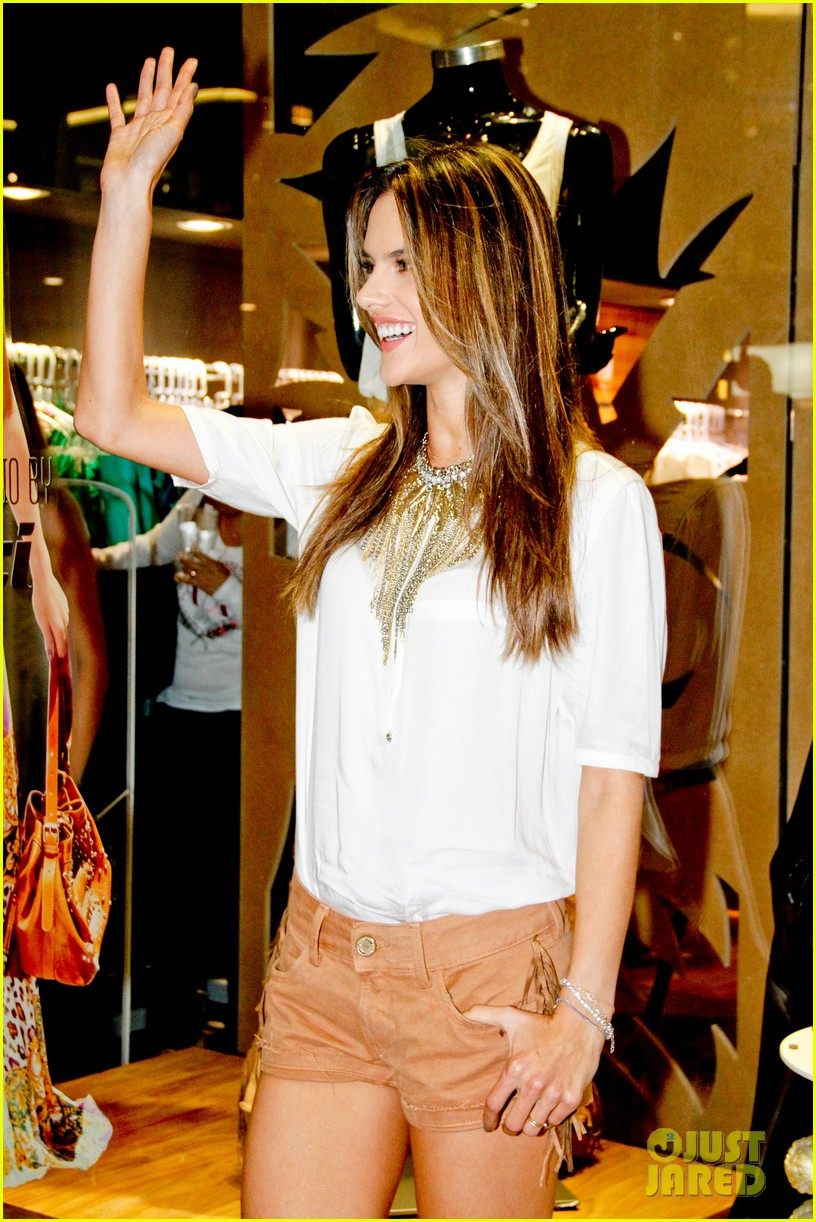 alessandra ambrosio colcci collection launch in rio 212759803