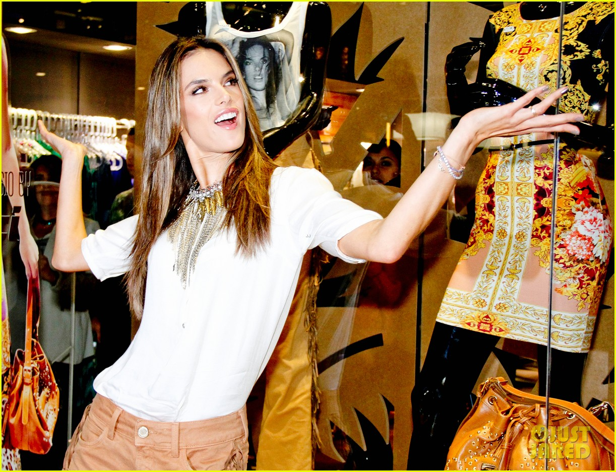 alessandra ambrosio colcci collection launch in rio 222759804