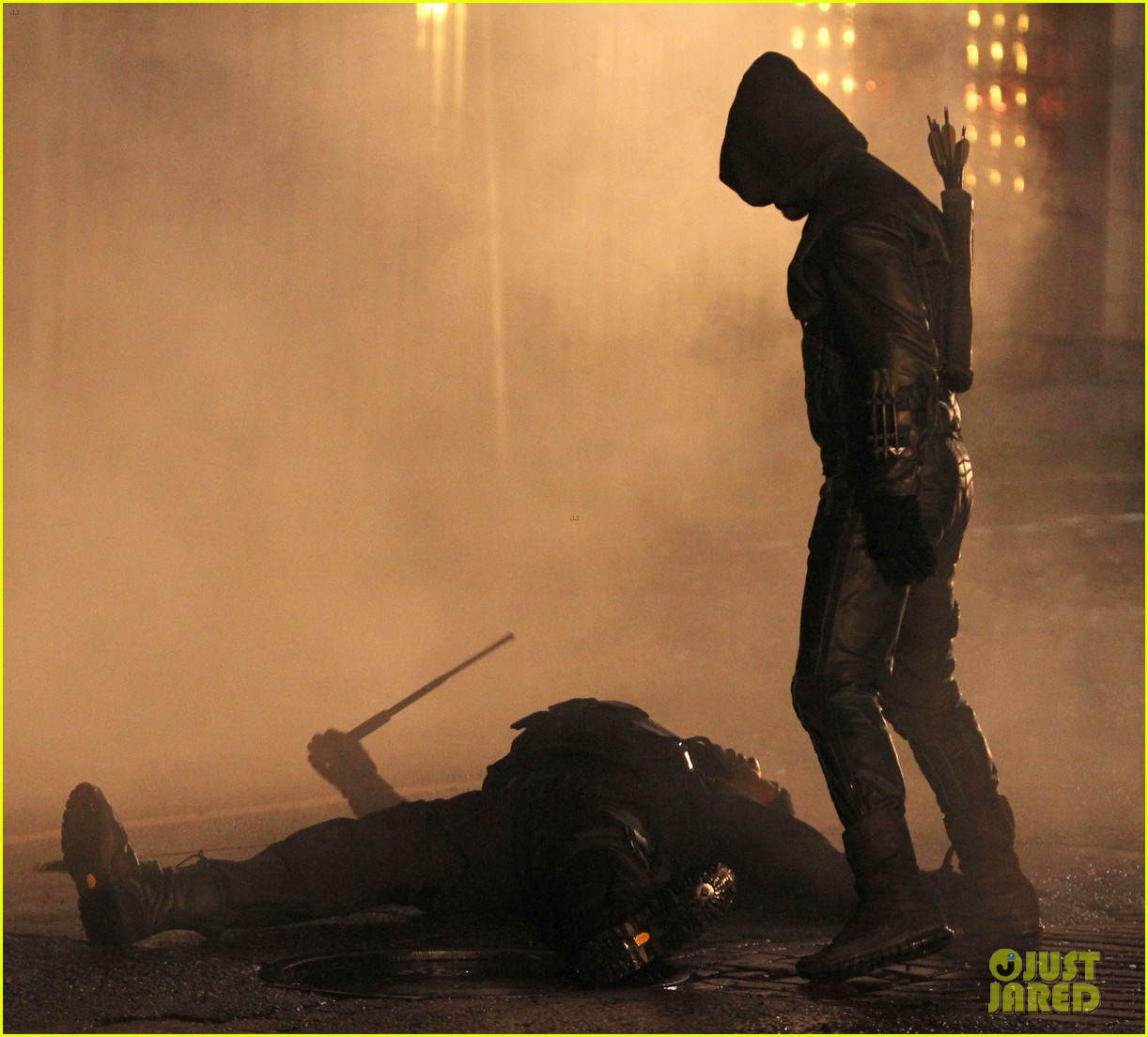 stephen amell arrow fight scenes 252758290