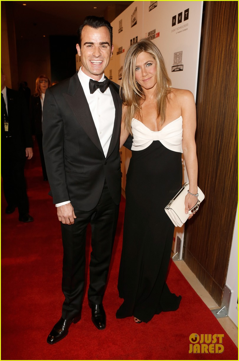 jennifer aniston justin theroux american cinematheque gala 01