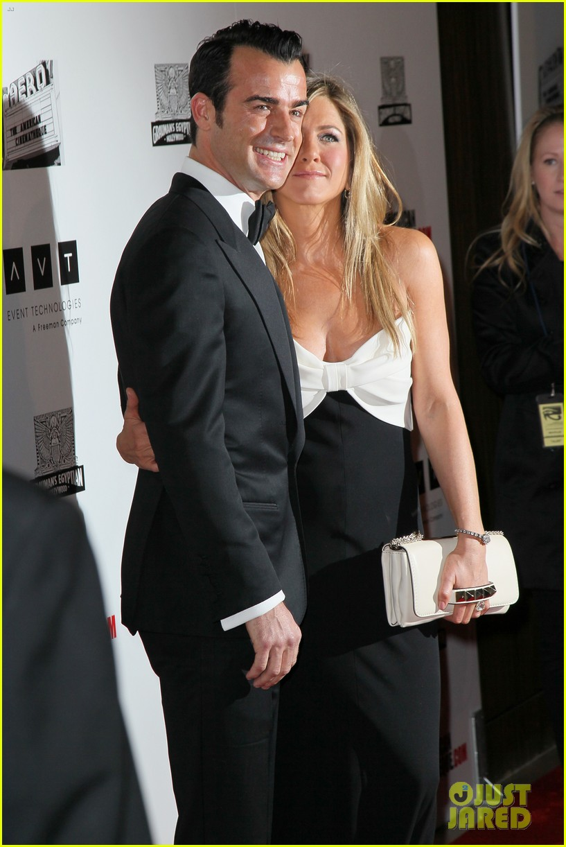 jennifer aniston justin theroux american cinematheque gala 18