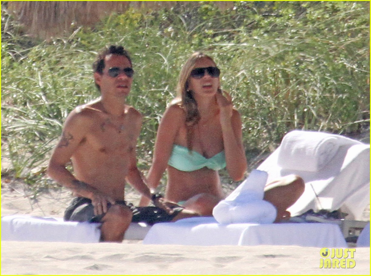 marc anthony shirtless with shannon de lima the twins 012753907