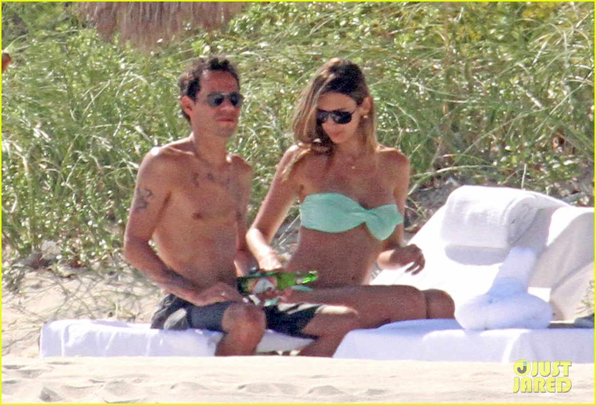 marc anthony shirtless with shannon de lima the twins 032753909