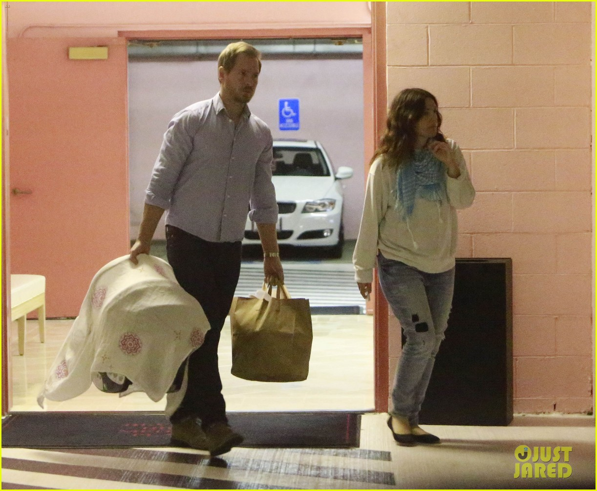 drew barrymore will kopelman doctors visit with olive 082764561