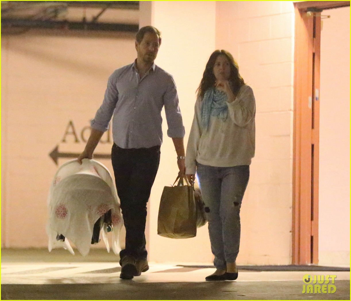 drew barrymore will kopelman doctors visit with olive 122764565