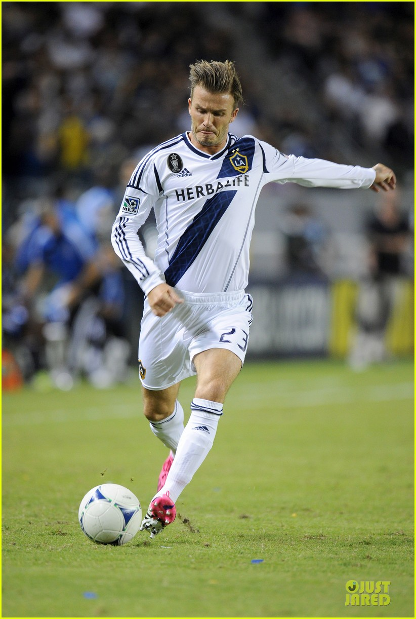 david beckham galaxy game with the boys 172751295
