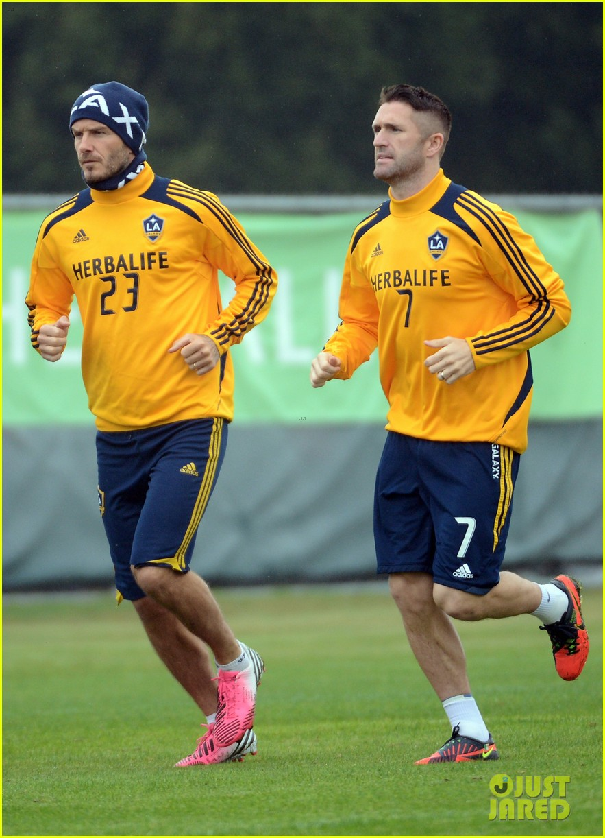 david beckham mls cup 2012 training session 012766185